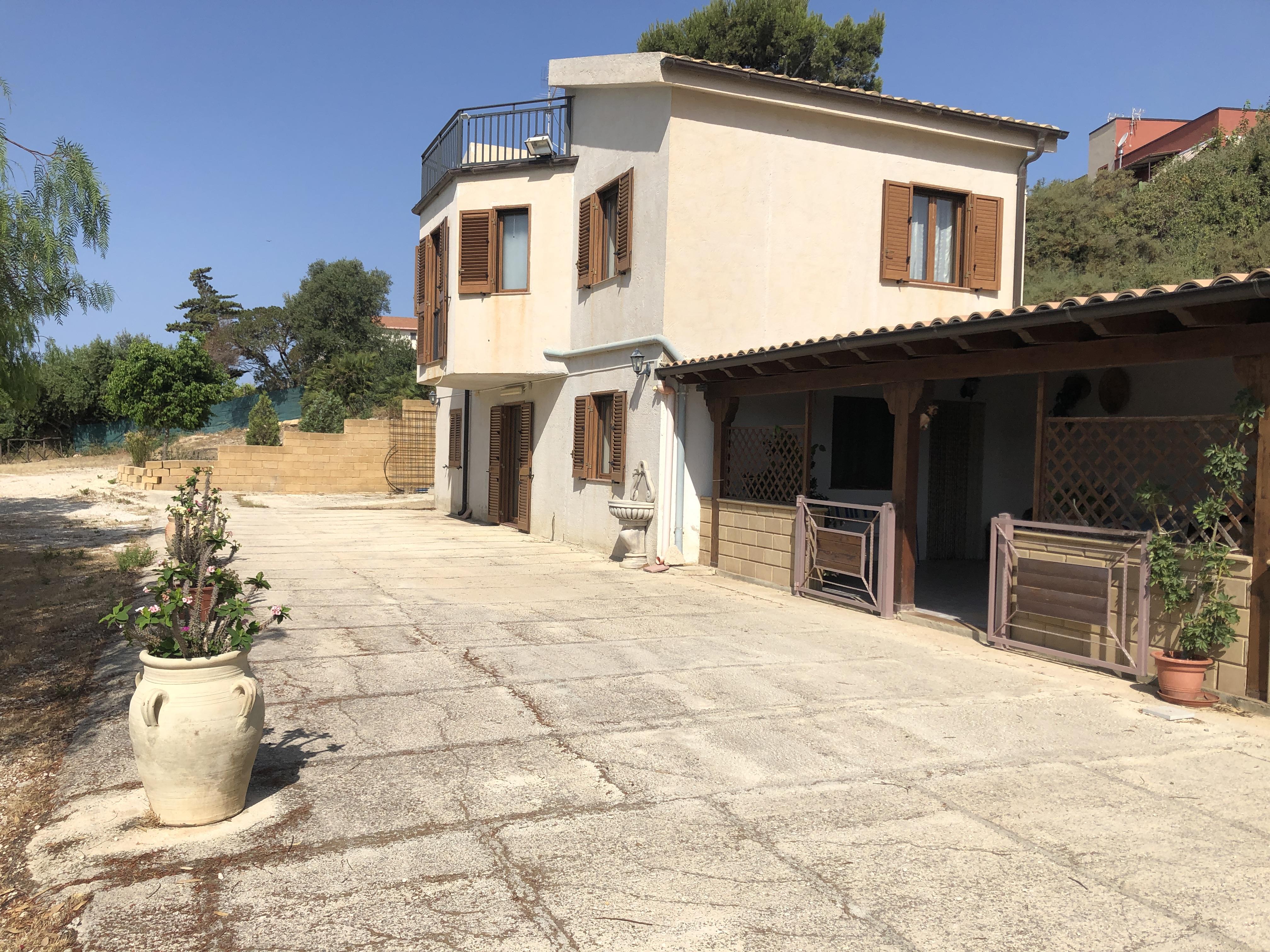 Villa su due Livelli – Zona Scala dei Turchi